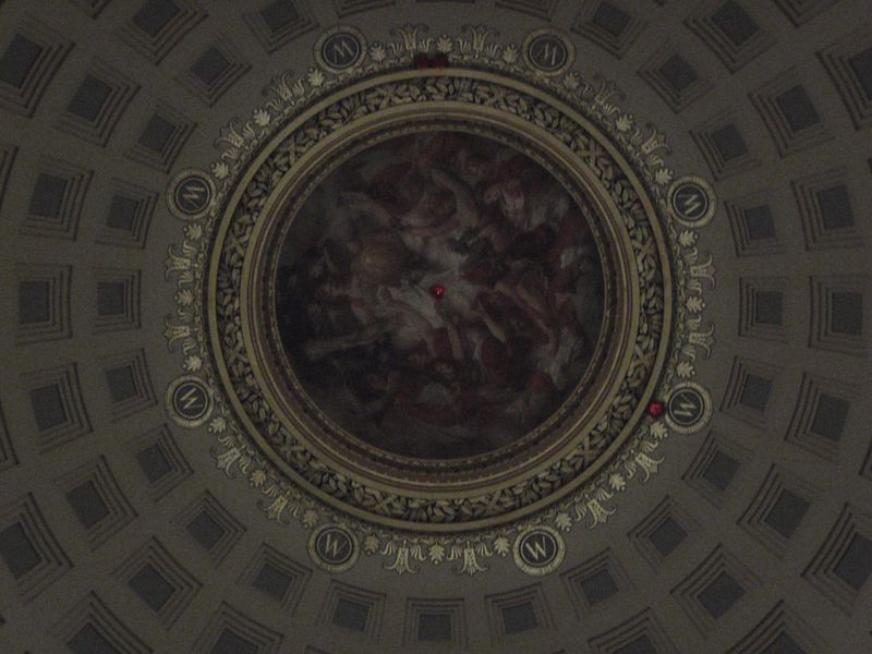 Dome in the Madison Capitol at Night